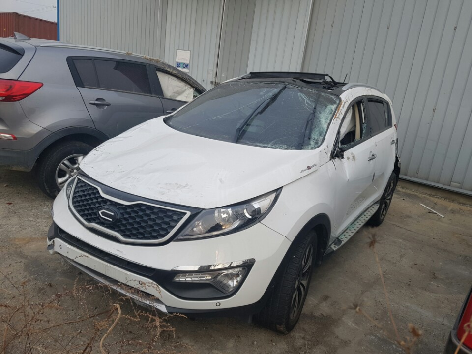 [Damaged Car] Kia Sportage 2012 2.0 Diesel D4HA